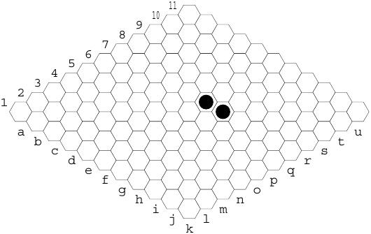 Hex: jogar numa casa contígua