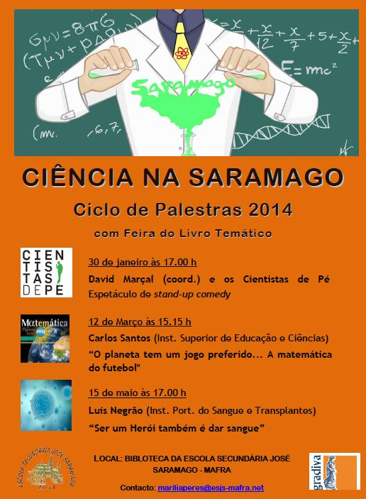 Conferência na Escola Secundária José Saramago