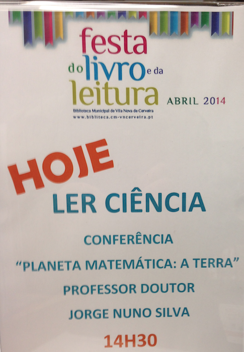 Conferência na Biblioteca Municipal de VN de Cerveira