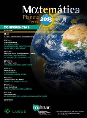 Conferências MPT 2013 no MNHNC